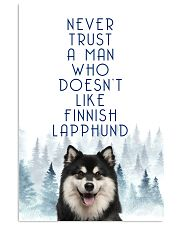 Finnish Lapphund 11x17 Poster front