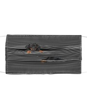 Dachshund Striped T821  Cloth face mask front