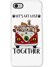 Goldendoodle Let's get lost together Phone Case thumbnail