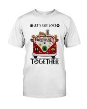 Goldendoodle Let's get lost together Classic T-Shirt front