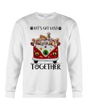 Goldendoodle Let's get lost together Crewneck Sweatshirt thumbnail