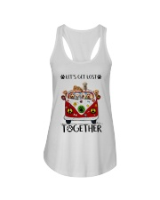 Goldendoodle Let's get lost together Ladies Flowy Tank thumbnail