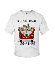 Goldendoodle Let's get lost together Youth T-Shirt thumbnail