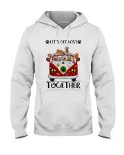 Goldendoodle Let's get lost together Hooded Sweatshirt thumbnail