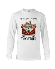 Goldendoodle Let's get lost together Long Sleeve Tee thumbnail