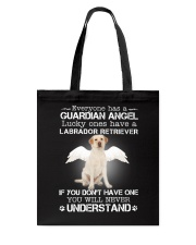 DOGS - LABRADOR RETRIEVER GUARDIAN ANGEL Tote Bag thumbnail