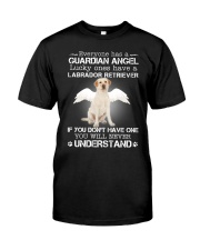 DOGS - LABRADOR RETRIEVER GUARDIAN ANGEL Classic T-Shirt front