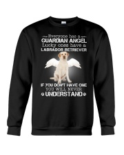 DOGS - LABRADOR RETRIEVER GUARDIAN ANGEL Crewneck Sweatshirt thumbnail