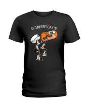 Border Collie Anti Ladies T-Shirt thumbnail