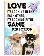 Chihuahua Same Direction 11x17 Poster front