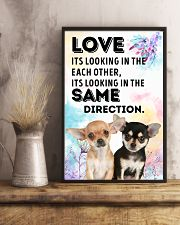 Chihuahua Same Direction 11x17 Poster lifestyle-poster-3