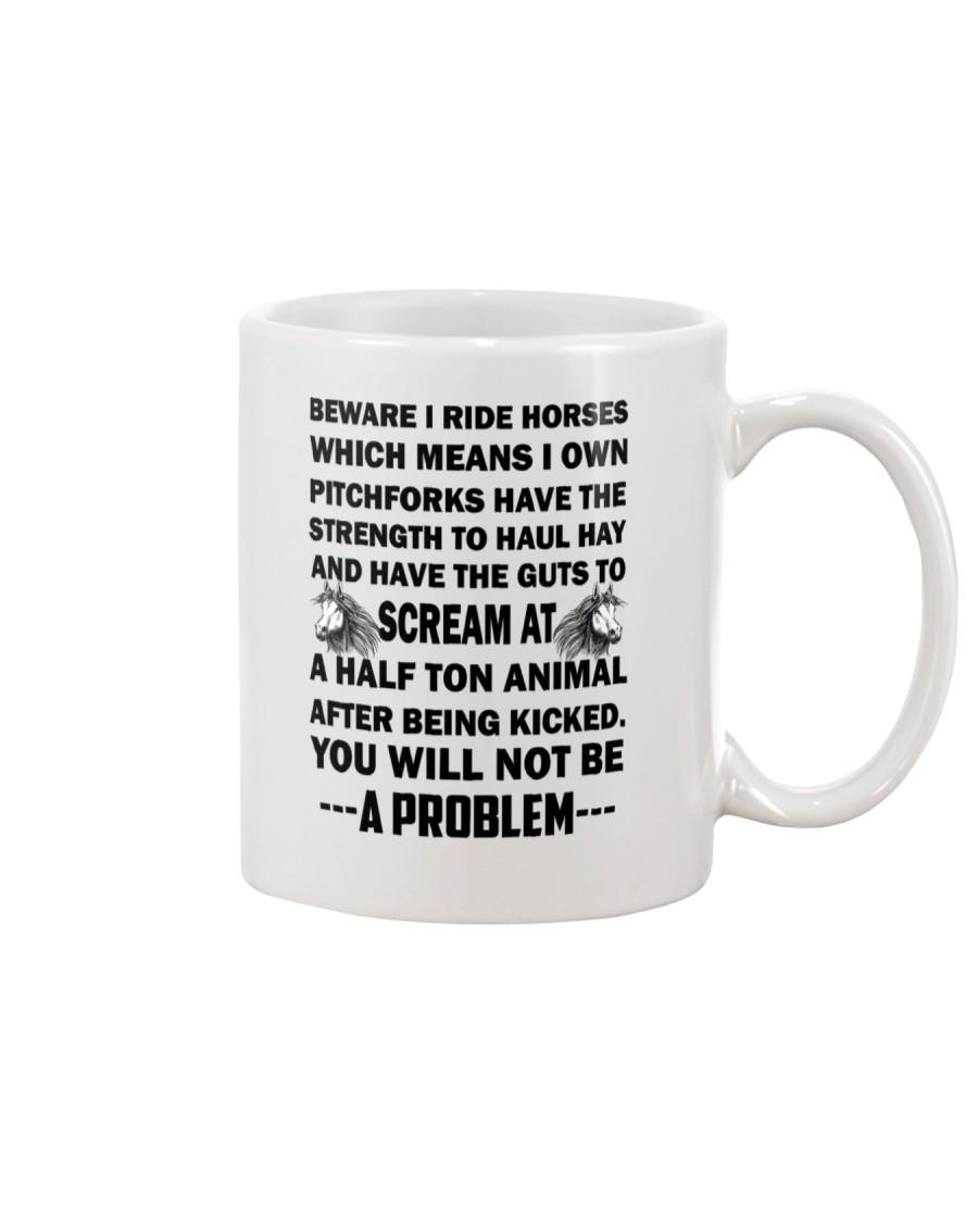 Horses Beware  Mug