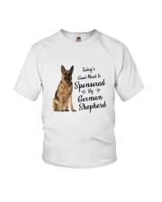Sponsored By German Shepherd Youth T-Shirt thumbnail