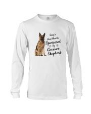 Sponsored By German Shepherd Long Sleeve Tee thumbnail
