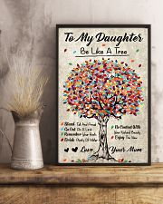 Family - To My Daughter - Be like a tree 11x17 Poster lifestyle-poster-3