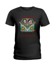 Elephant - Living life in peace Ladies T-Shirt thumbnail