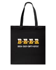Beer- Enjoy Repeat Tote Bag thumbnail