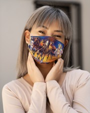 Horse Running G82760 Cloth face mask aos-face-mask-lifestyle-17