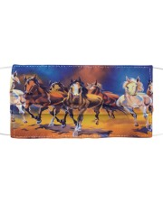 Horse Running G82760 Cloth face mask front