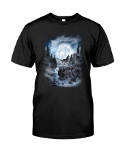 NYX - Alpha Wolf and Moon - 0904 Classic T-Shirt front