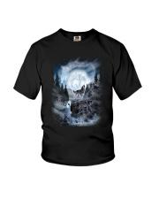 NYX - Alpha Wolf and Moon - 0904 Youth T-Shirt thumbnail