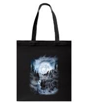 NYX - Alpha Wolf and Moon - 0904 Tote Bag thumbnail