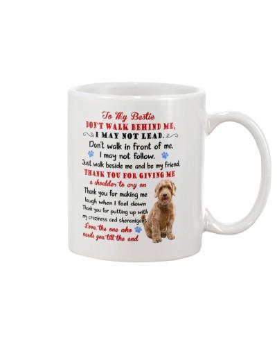 Dog - To my bestie - Goldendoodle