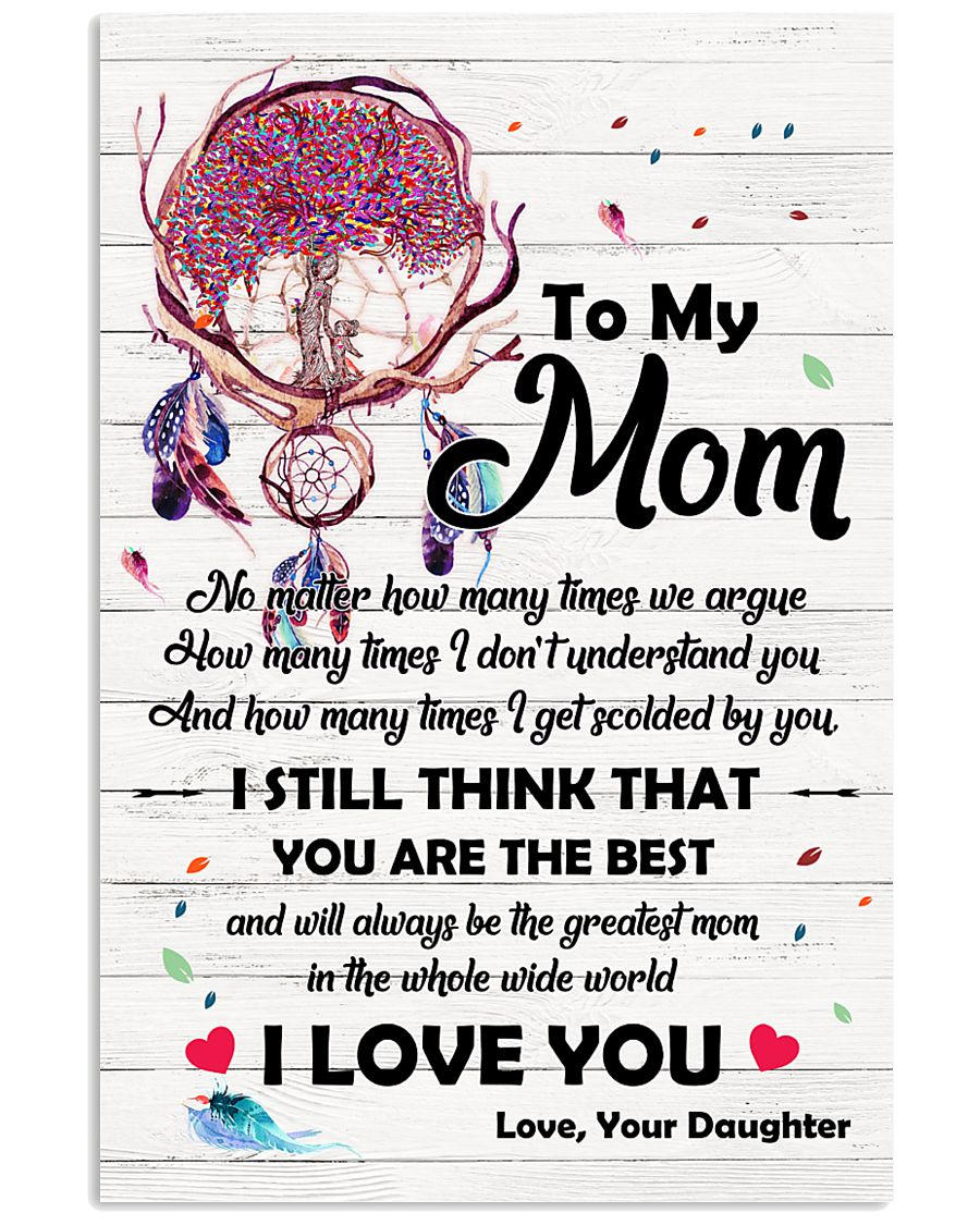 Family Momm You are The Best 11x17 Poster