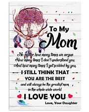 Family Momm You are The Best 11x17 Poster front