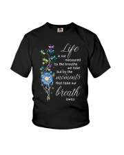 Family The moments take our breath away Youth T-Shirt thumbnail