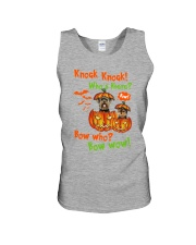 Dog Yorkshire Terrier Bow who Unisex Tank thumbnail