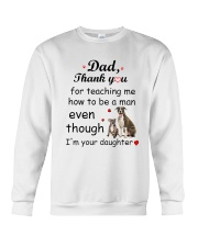American Staffordshire Terrier Thank You Crewneck Sweatshirt thumbnail