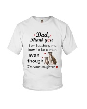 American Staffordshire Terrier Thank You Youth T-Shirt tile