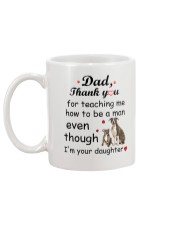 American Staffordshire Terrier Thank You Mug back