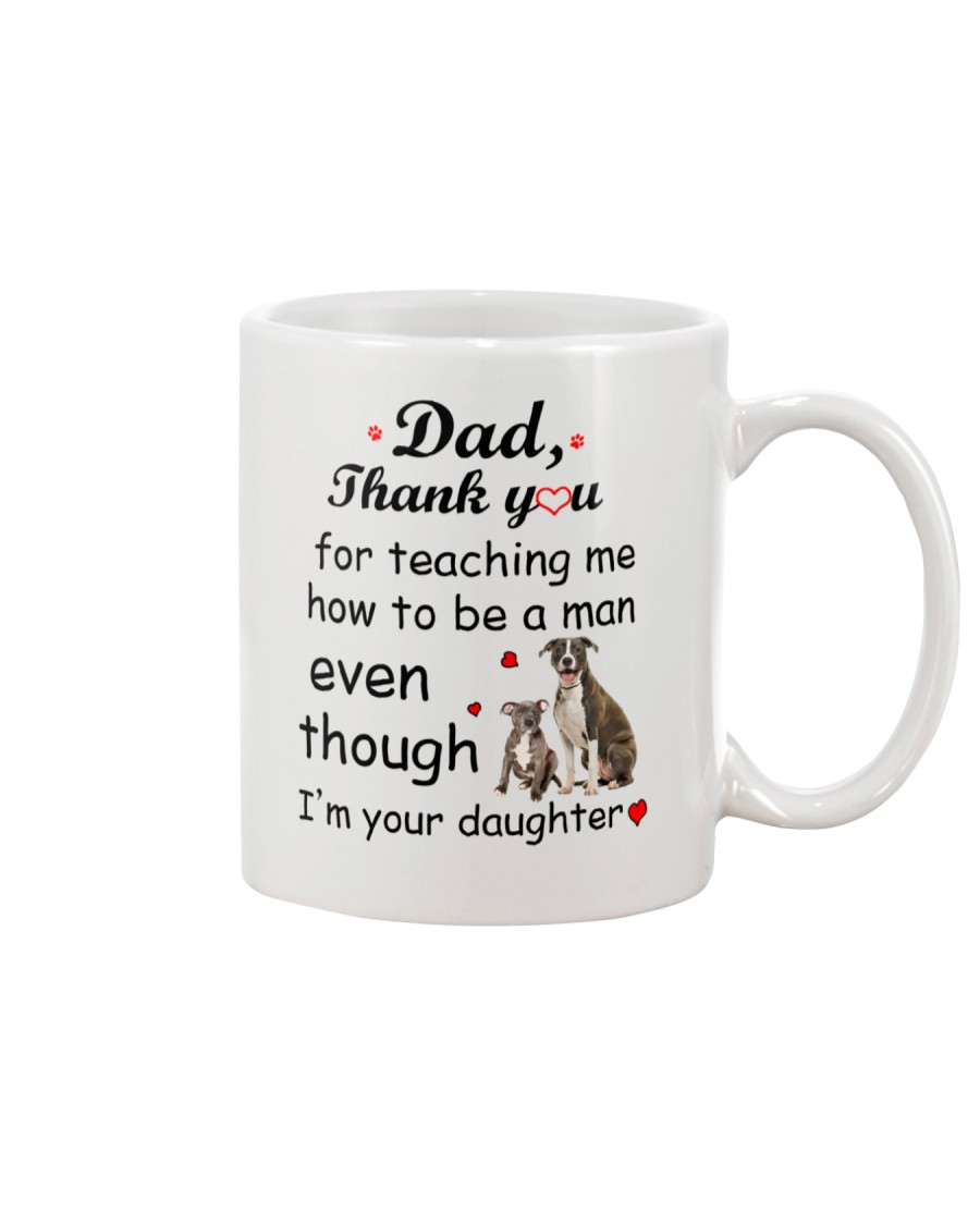 American Staffordshire Terrier Thank You Mug