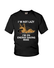 Lazy German Shepherd Youth T-Shirt thumbnail
