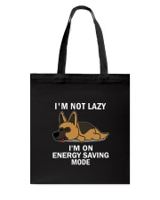 Lazy German Shepherd Tote Bag thumbnail