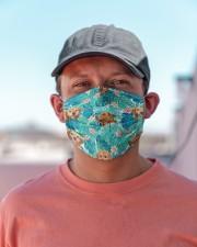 Tropical Golden Retriever H31711 Cloth face mask aos-face-mask-lifestyle-06
