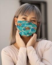 Tropical Golden Retriever H31711 Cloth face mask aos-face-mask-lifestyle-17