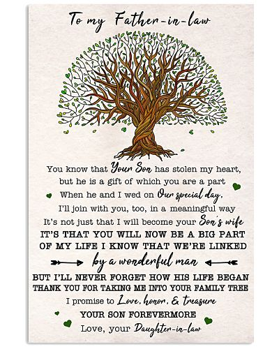 To my Father-in-law Honor