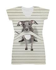 Greyhound Camp Mau Shirt Full All-over Dress thumbnail