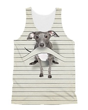 Greyhound Camp Mau Shirt Full All-over Unisex Tank thumbnail