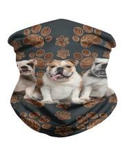Bulldog Floral Paw H26817 Neck Gaiter thumbnail