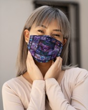 Butterfly Flower H28861 Cloth face mask aos-face-mask-lifestyle-17