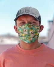 Tropical Pineapple Labrador Retriever H25820 Cloth face mask aos-face-mask-lifestyle-06