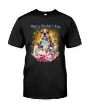 NYX - Bulldog Mom - 1304 Classic T-Shirt front