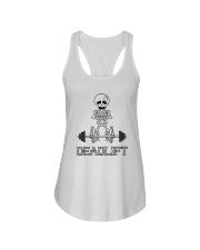 Gym - Deadlift Ladies Flowy Tank front