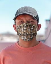 Shetland Sheepdog Awesome H27846 Cloth face mask aos-face-mask-lifestyle-06