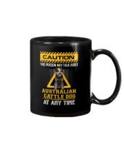 Warning Australian Cattle Dog Mug thumbnail