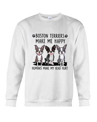Boston Terrier - Head hurt
